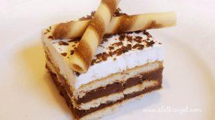 KEKSOLINO: Super kolač bez pečenja od keksa, rado ga jedu djeca, ali i odrasli
