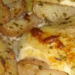 Paprike sa sirom i krumpirom