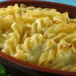 ZAPEČENA tjestenina sa svježim sirom