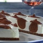 Cheesecake s čokoladnim lopticama