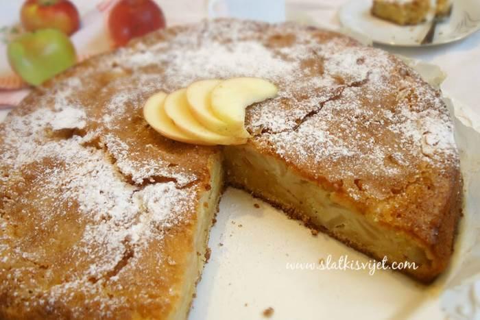 Francuska torta s jabukama