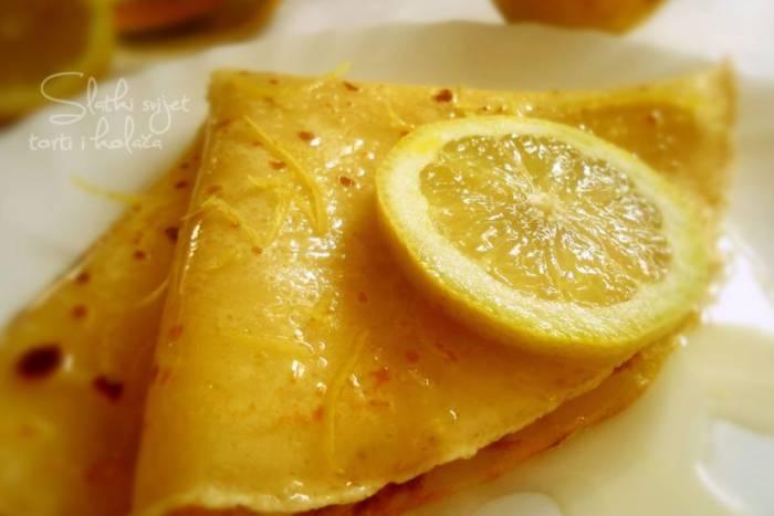 Palačinke s medom i limunom