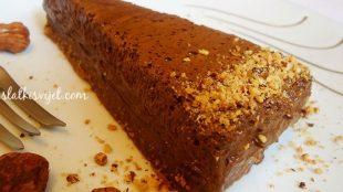 Pjenasta čokoladna torta