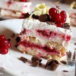 KOLAČ S MALINAMA I PIŠKOTAMA: Ljetni kolač bez puno muke… i naravno, bez pečenja!