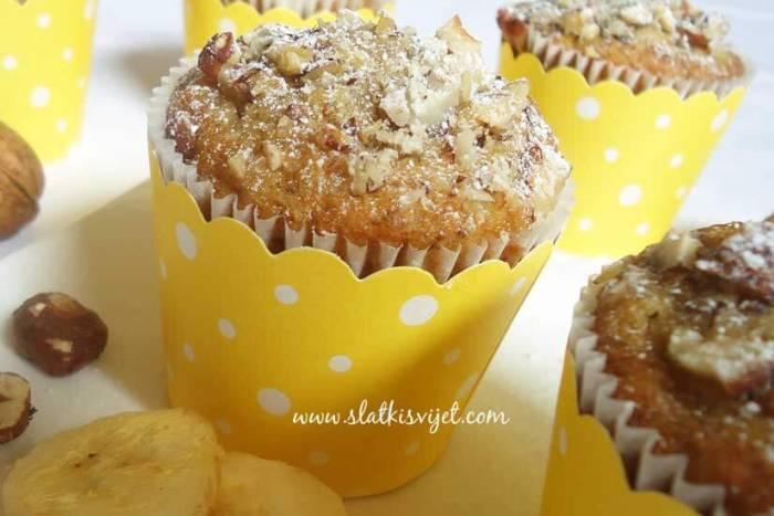 Banana muffini