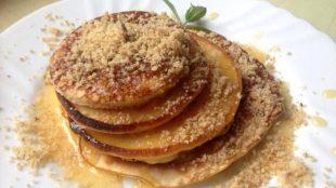 Američke palačinke sa medom i orasima (pancakes)