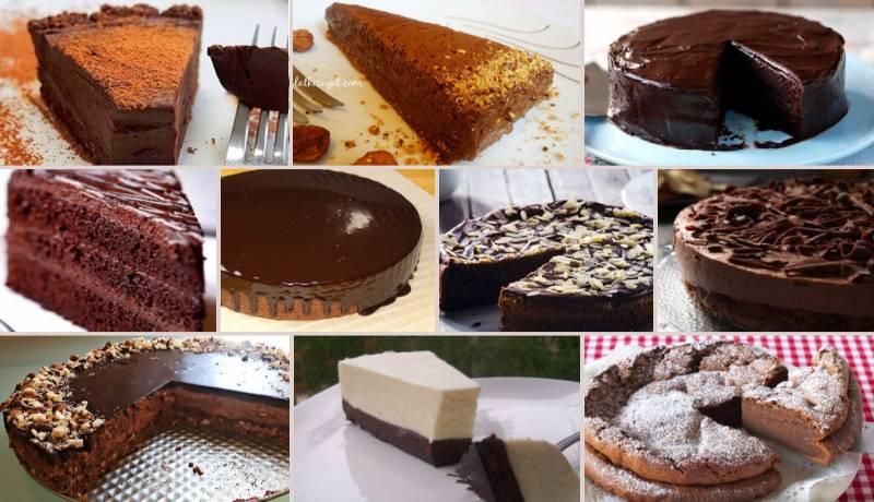 10 brzih čokoladnih torti