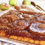 ŠARMANTAN I UKUSAN: Prevrnuti kolač s jabukama i orasima