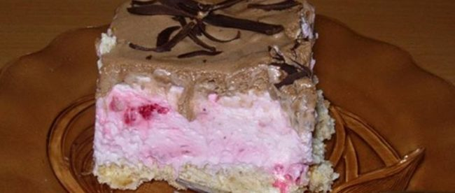 Šlag torta u tri boje