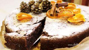 Božićna Caprese torta