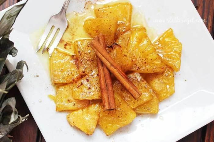 Pečeni ananas