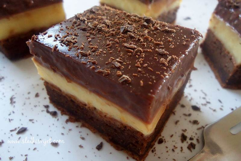 Jednostavan puding kolač