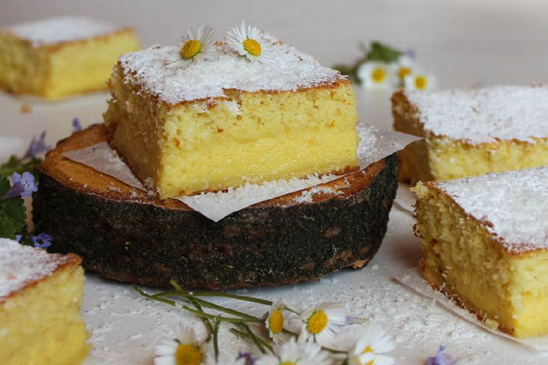 Čarobni kolač od kokosa