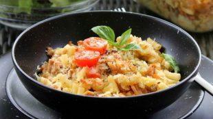 Zapečena tjestenina s tunjevinom