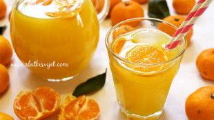 Domaći sok od mandarina