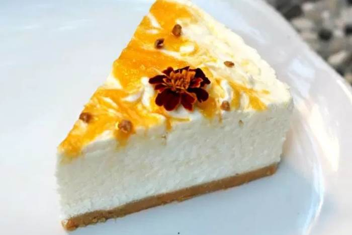 MANGO CHEESECAKE: Zanimljiva i ukusna varijacija popularnog deserta / Mango cheesecake