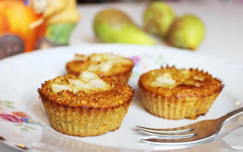 ZDRAVI I UKUSNI: Muffini s bundevom i zobenim pahuljicama